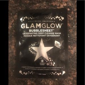 Glam glow bubble sheet